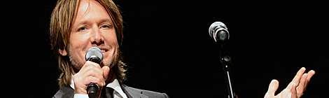 Keith Urban Receives Award From Nashville Symphony